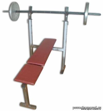 чертеж скамья для жима лежа, инструкция