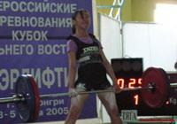 Становая тяга, Елисеева Лидия - увеличить (Фото А. Курченко)